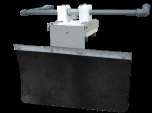 Cowcooler valve flap